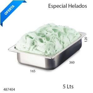 Cubeta 5 litros para helados