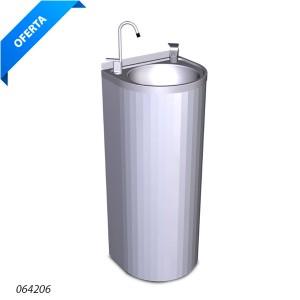 Fuente agua columna