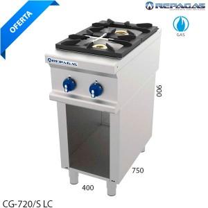 Cocina 2 fuegos Repagas