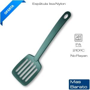Espátula lisa Nylon Cocina