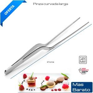 Pinza Chef curvada 21 cm