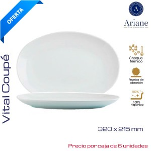Fuente Oval 32 cms