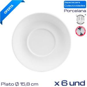 Plato Caldo- desayuno Mod. Mallorca (Caja 6 und)