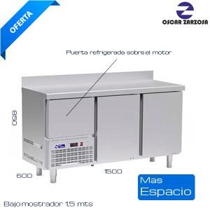 Bajo mostrador refrigerado 1500