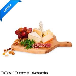 Tabla madera acacia 38x18