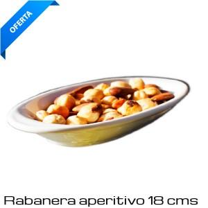 Rabanera de aperitivo de Porcelana 18 cms