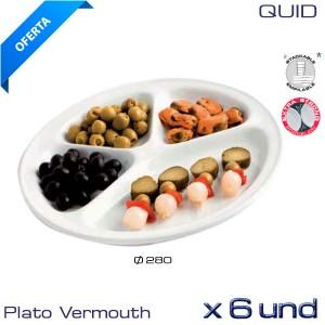 Plato especial para Vermouth (Caja 6 und)