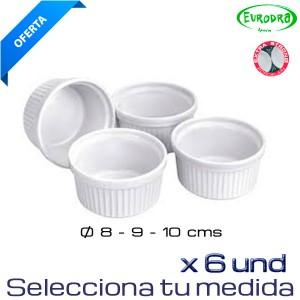 Ramiqui de porcelana (Caja de 6 und)