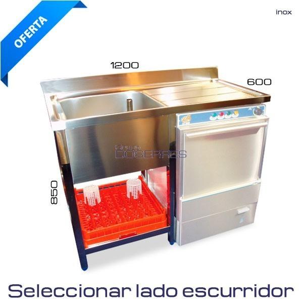 Fregadera para lavavajillas 1200