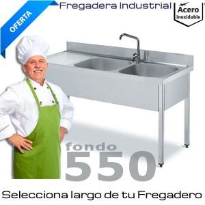 Fregaderas Industriales Fondo 550
