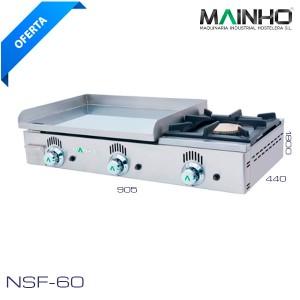 Plancha con fogón NSF-60 Mainho