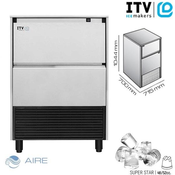 Máquina fabricador de cubitos de hielo itv super star NG110 - Sistema de refrigeración en el motor por aire