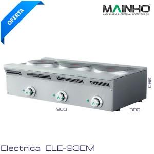 Cocina eco eléctrica 3 placas