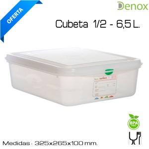 Hermético Gastronorm 1/2 - 100 mm