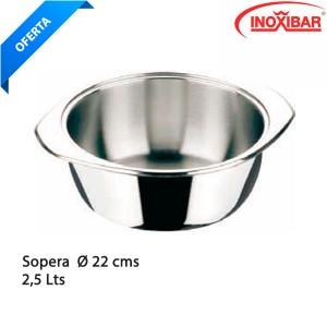 Sopera sin base inox