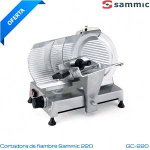 Cortadora de fiambre Sammic GC-220