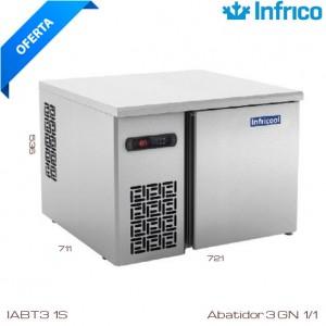 Abatidor de temperatura IABT-3 1S