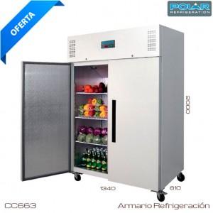 Armario frigorifico GN 2/1 Puerta blanca