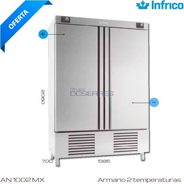 Armario Infrico 2 Temperaturas