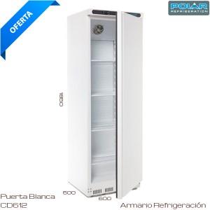 Armario refrigerado Puerta Blanca