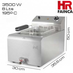 Freidora 8 litros HR