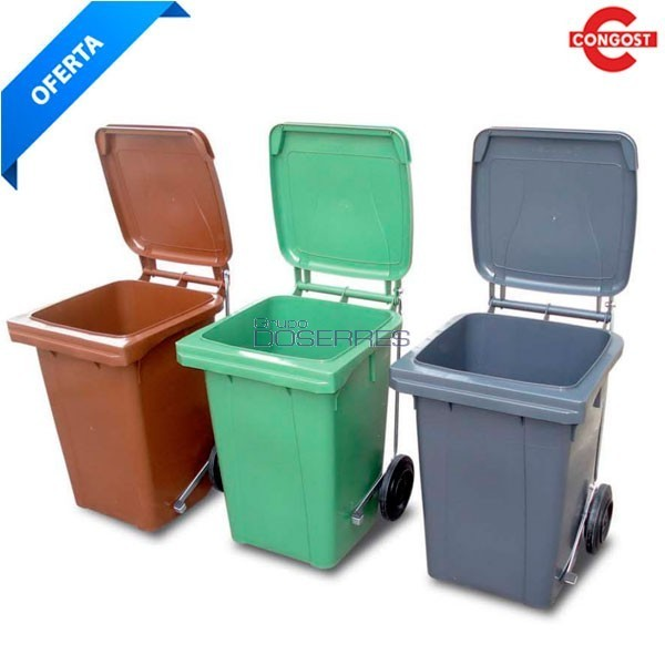 Cubo de basura industrial 80 lts suministros y - Cubos de basura industriales ...