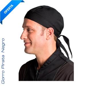 Gorro Pirata negro Cocina