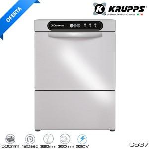 Lavavajillas KRUPPS C537 - Cesta 50x50 una fase