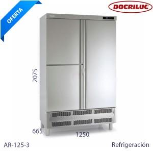 Armario refrigerado 3 puertas