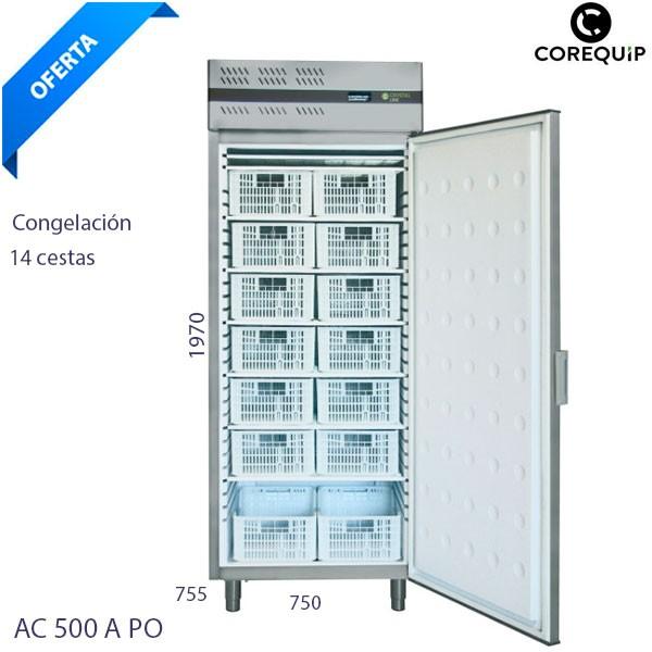 Congelador vertical Corequip