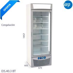 Congelador puerta cristal iarp