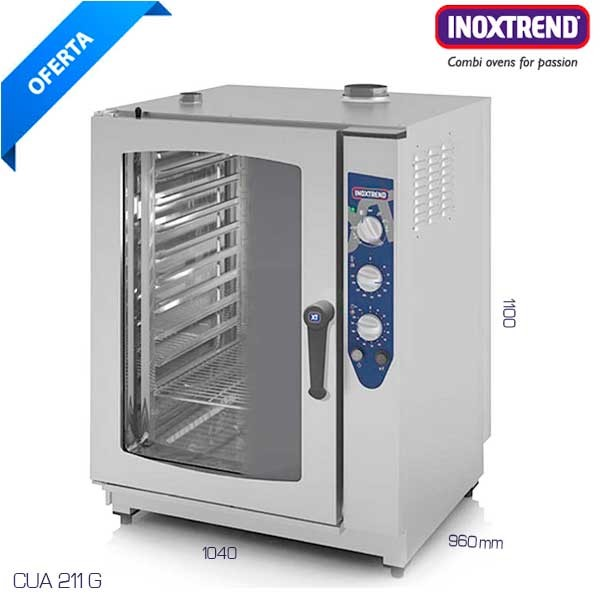 Horno Inoxtrend a gas