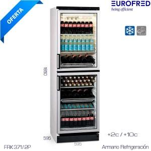 Armario Puerta Cristal Eurofred