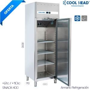 Armario de refrigeración inox eurofred