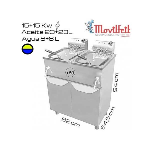 Freidora Industrial Movilfrit