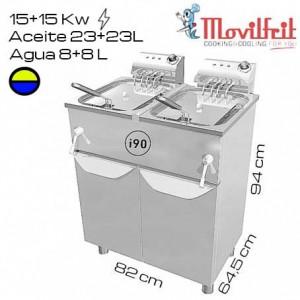 Congelador vertical CV-1800