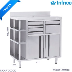 Minicámara frigorífica Multiusos 3 estantes