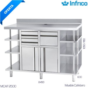 Mueble cafetero Infrico MCAF 2500