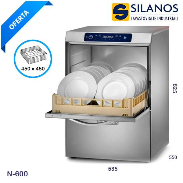 Lavavajillas Industrial Silanos N-600