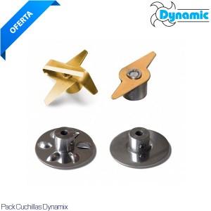Pack 4 cuchillas Dynamix
