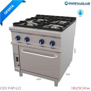 Cocina 4 fuegos CG-741 LC