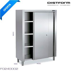 Armario de pie con puertas 1400x600x1900