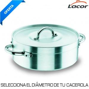 Cacerola Chef Aluminio Profesional