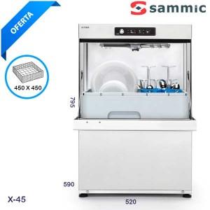 Lavavajillas Sammic X45