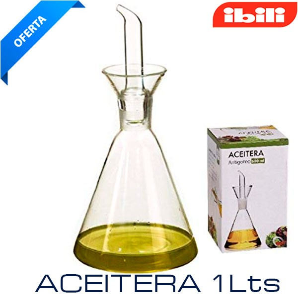Aceitera pirámide Probeta