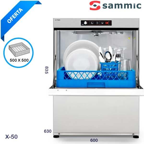 Lavavajillas industrial SAMMIC X 50
