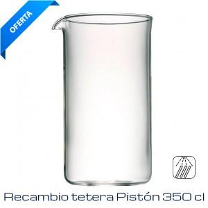 Recambio Cristal Tetera Pistón 35 cl
