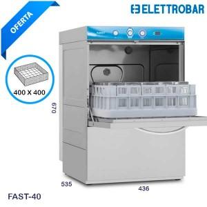 Lavavasos profesional Elettrobar