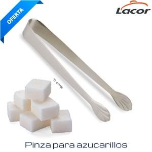 Pinza azucarillos inox