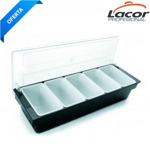 Caja 5 compartimentos